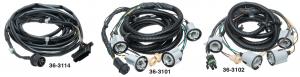 1973-87 Rear Body Wiring Harnesses