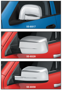Chrome Door Mirror Cover Set