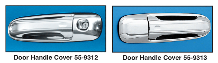 Chrome Door Handle Covers