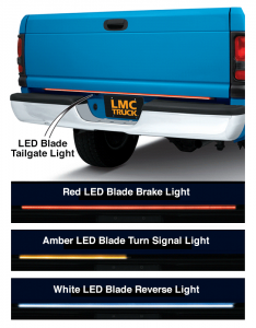 LED Blade Tailgate Light ... Over 2,000 LEDs for a Distinctive Look