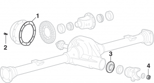 Rear Differential Components