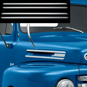Hood Side Molding Set and Clip
