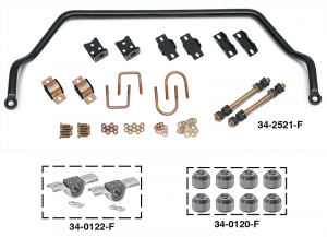 Performance Sway Bars Give You Bolt-On Handling and Control ... Drive Faster Through Turns with Improved Traction