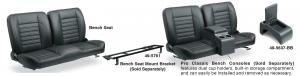 Pro Classic Sport Bench Seat