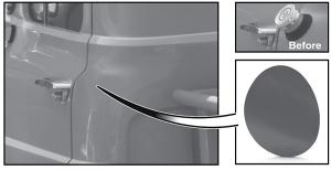 Fuel Neck Filler Panel