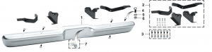 Styleside Rear Bumper and Components