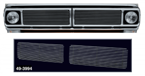 Billet Grille Set with 4MM Bars