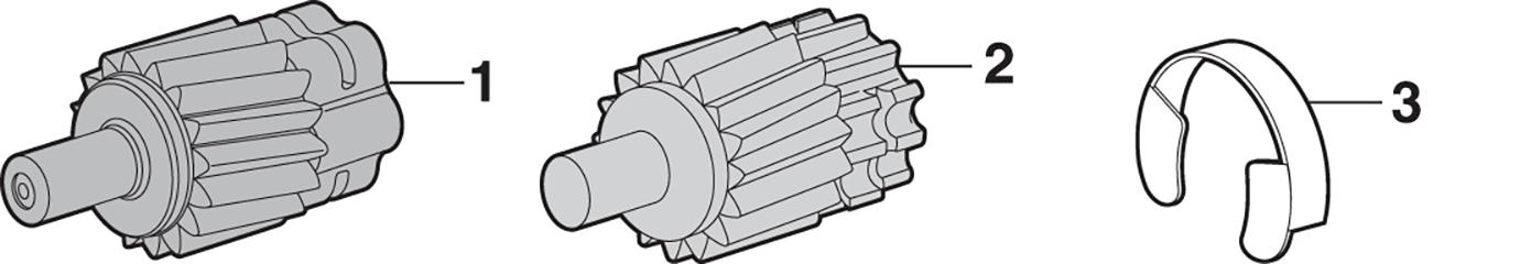 Speedometer Drive Gears