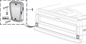 Styleside Rear Body Reflector - Red