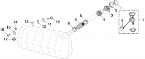 In-Cab Gas Tank Components