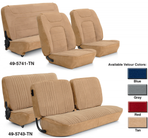Velour Seat Reupholstery Kit