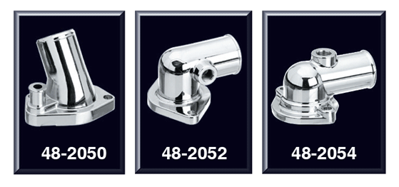 Chrome Water Outlet and Seal