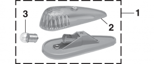 Roof Marker Lamp and Components
