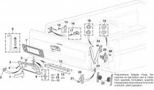 Styleside Tailgate Components