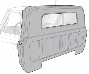 Small Window Rear Outer Panel