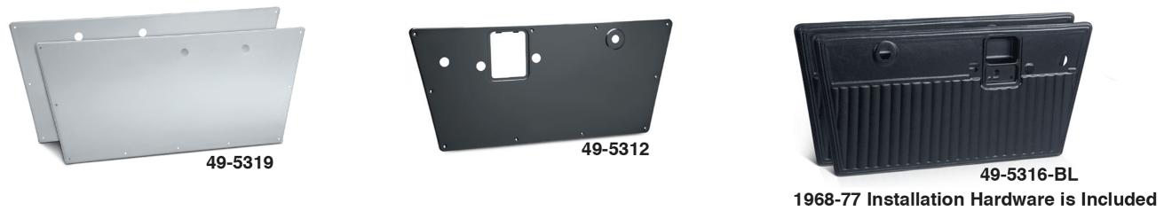 Replacement Door Panels