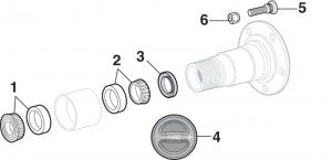 Front Wheel Bearings