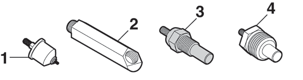 Oil Pressure and Water Temperature Switches