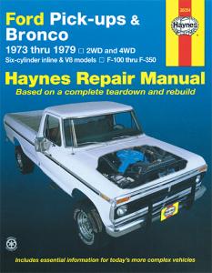 Haynes Pickups & Bronco 1973-1979