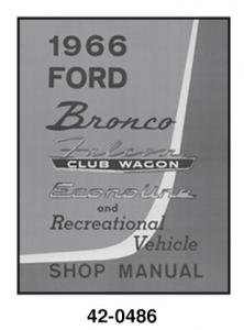 Bronco Shop Manuals