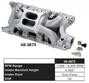 Edelbrock Aluminum Performance Intake Manifold