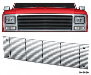 Billet Aluminum Grille with 4MM Bars
