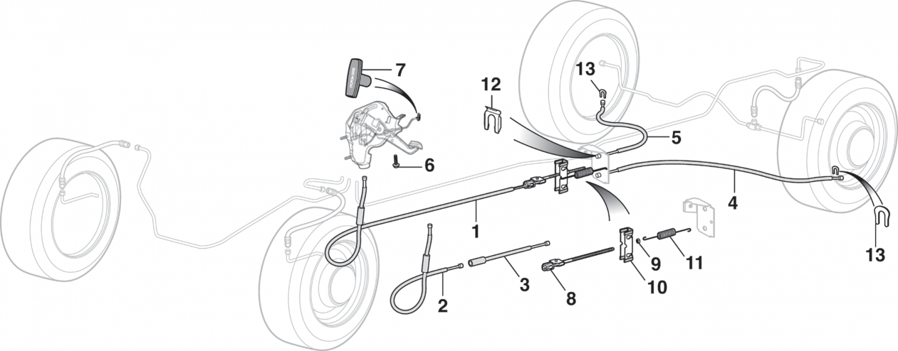 Brake Cables and Components