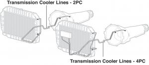 Pre-Bent Transmission Lines