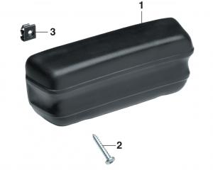 Rear Quarter Panel Armrest