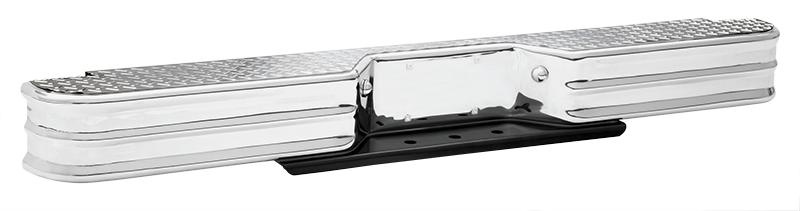 1980-96 Rear Step Bumper-Diamond Tread