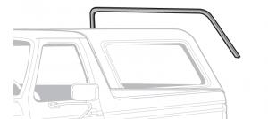 1980-96 Bronco Back Glass Upper Run