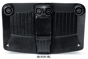 Highliner with Built-In Speakers .... For a Stereo System Above the Rest