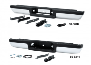 OE Style Chrome Rear Step Bumper