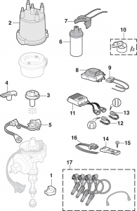 Ignition and Distributor Components