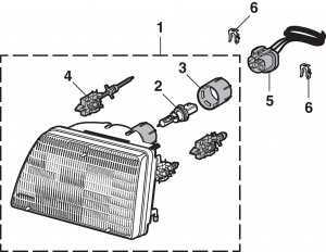 Headlight and Components