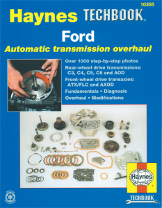 Haynes Ford Automatic Automatic Transmission Overhaul Manual
