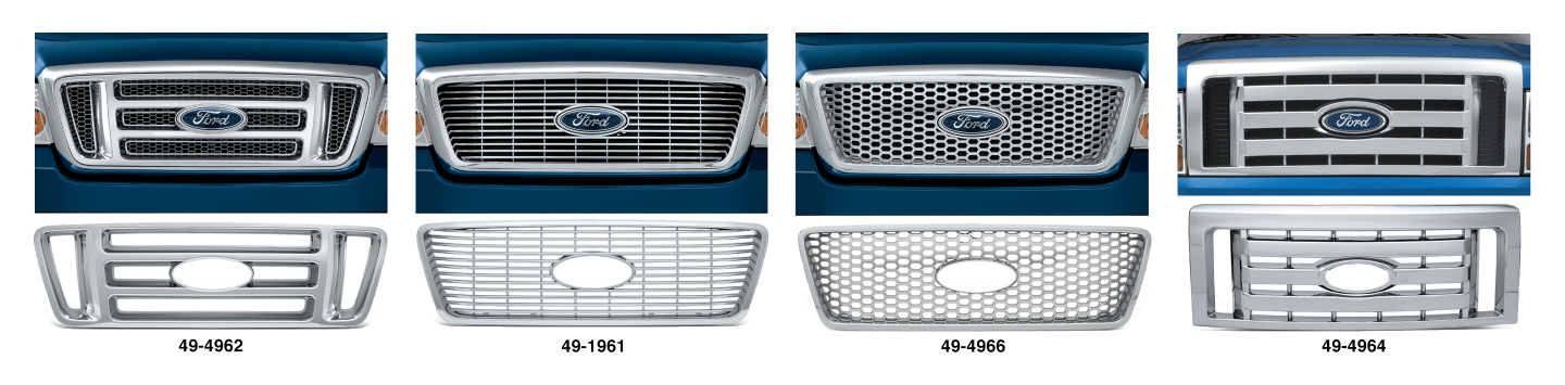 Chrome Grille Covers