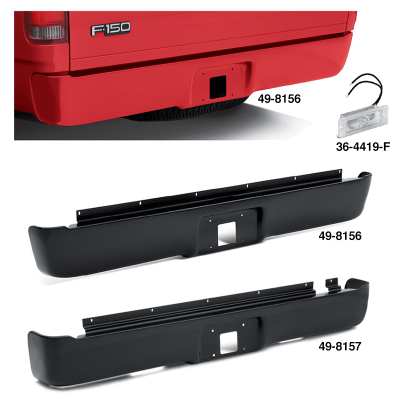 Steel Rear Roll Pan Gives Your Truck a Smooth Look