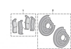 Rear Disc Brake Components