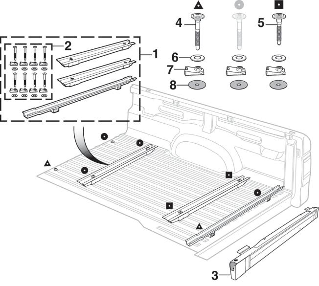 Bed Floor Components
