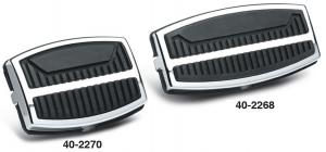Custom Pedal Pads and Trim