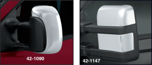 Chrome Door Tow Mirror Cover Sets