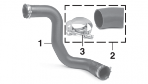 Intercooler and Turbo Outlet Hoses