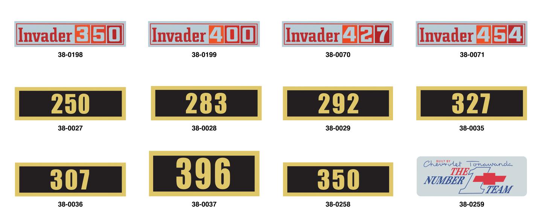 Valve Cover Decals