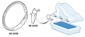 Air Cleaner Fresh Air Intake Clamps