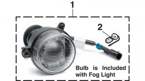 Fog Lights - Dealer Installed
