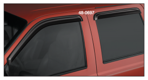 Side Window Deflectors … Keep Your Window Open and the Weather Out
