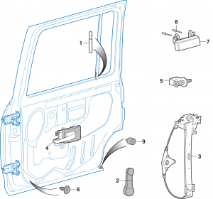 Rear Door Components