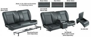 Front Split Bench Seat & Center Console