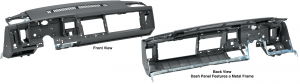 Dash Panel Assembly … A New, Permanent and Economical Solution to Your Cracked Dash